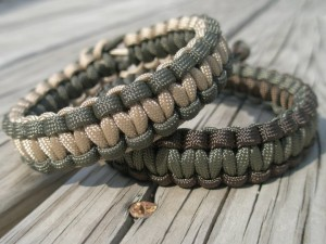 paracord-bracelets-green-tan-od